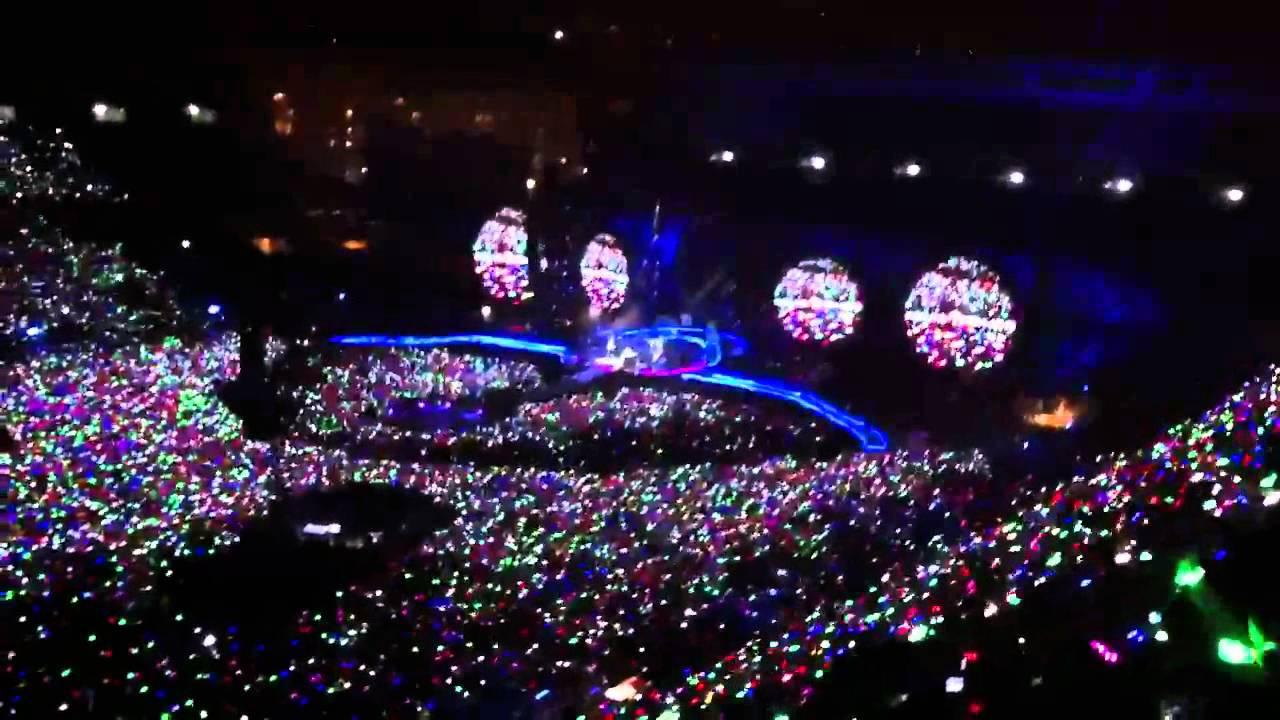 Bts Hd Wallpaper Desktop Coldplay Mylo Xyloto Tour Madrid Part 3 Youtube