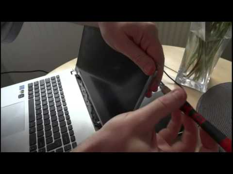 Laptop Screen Replacement / How To Replace Laptop Screen Asus N56VM