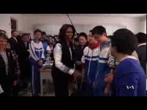 First Lady's Education Trip to China Employs Soft Diplomacy