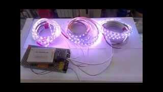 Включаем светодиодную ленту(Результаты первичного монтажа светодиодной ленты. В прикрепленной статье рассматриваются пошаговые реком..., 2014-02-13T11:17:04.000Z)