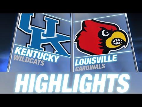 Kentucky Vs Louisville | 2014-15 ACC Men's Basketball Highlights