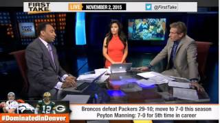 Broncos Defense Shuts Down Aaron Rodgers & Packers!  -  ESPN First Take