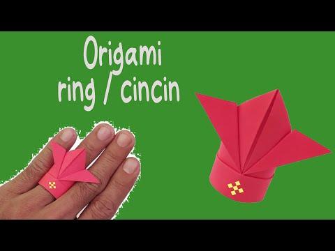 Paper Ring / Origami Cincin