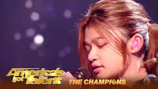 Angelica Hale Is Ready To WIN AGT The Champions! The Finals