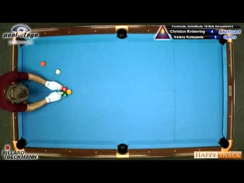 Stuttgart Open 2010 Reimering-Kuloyants, 10-Ball, Pool Billard