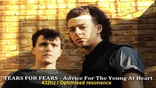 Tears For Fears - Advice For The Young At Heart 432hz Frequency | 432 hz conversion (a=432hz)