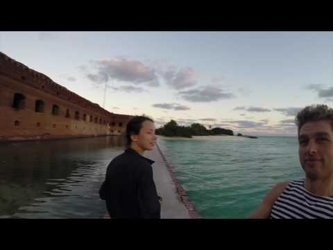 Camping at Dry Tortugas. 14 acres of solitude