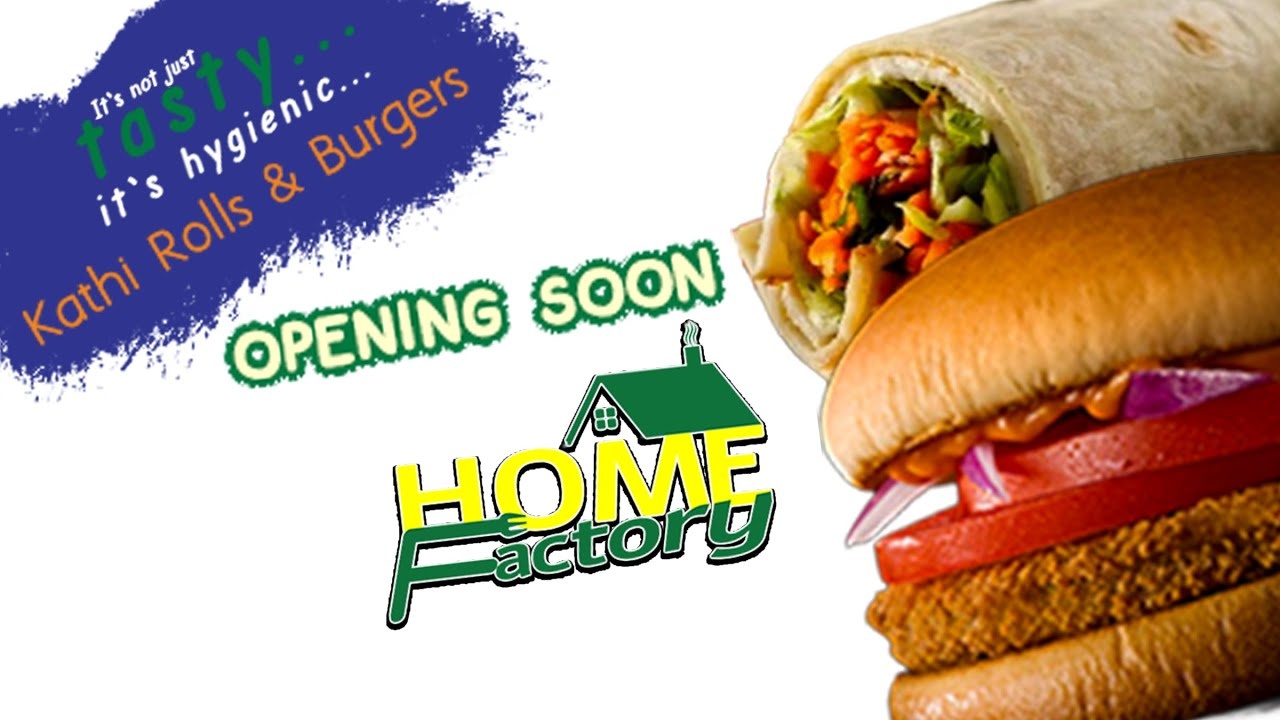Home Factory Food |  Food Factory | Kathi Rolls & Burgers | Home Delivery