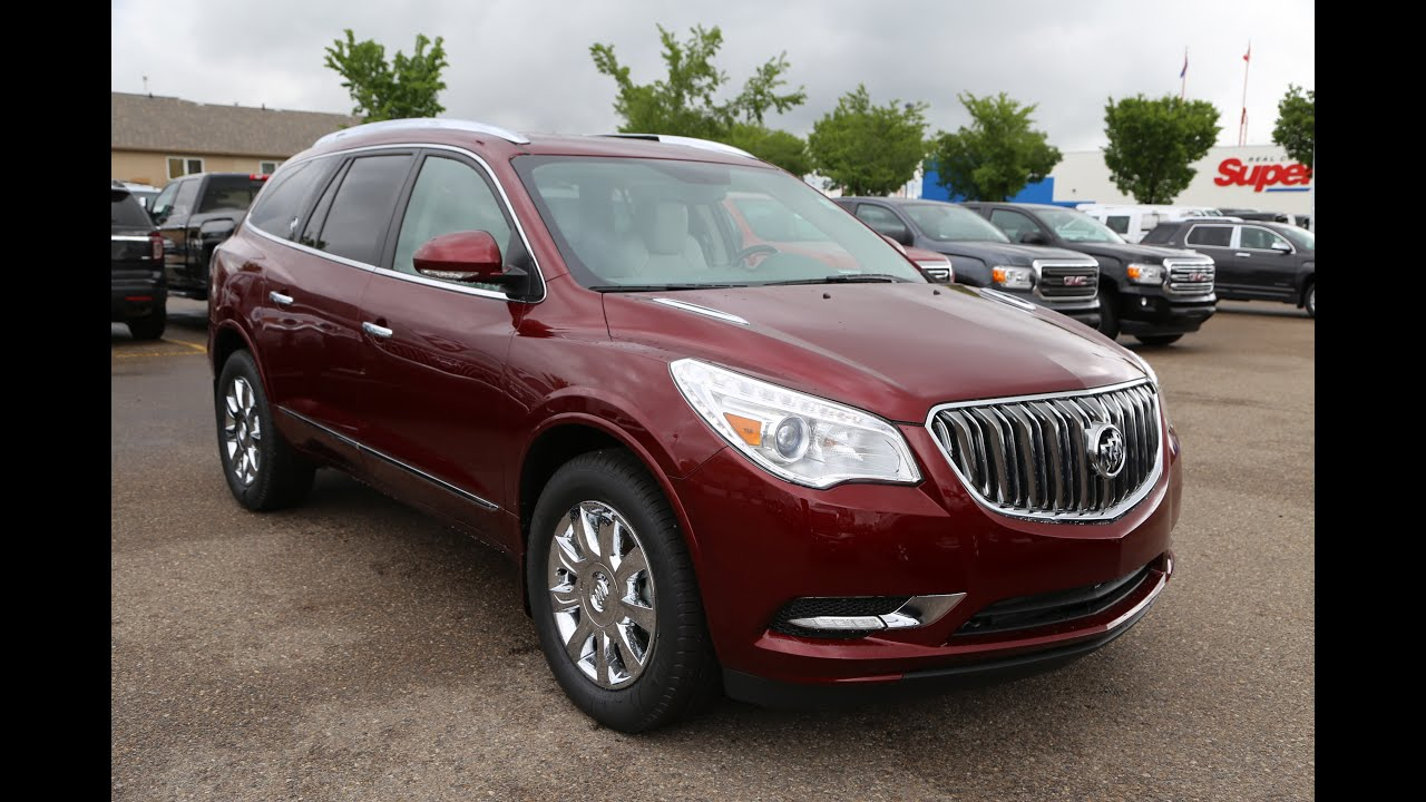 brand new 2016 buick enclave for sale in medicine hat ab. Black Bedroom Furniture Sets. Home Design Ideas
