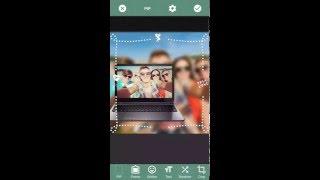 PIP Camera: Square Blur
