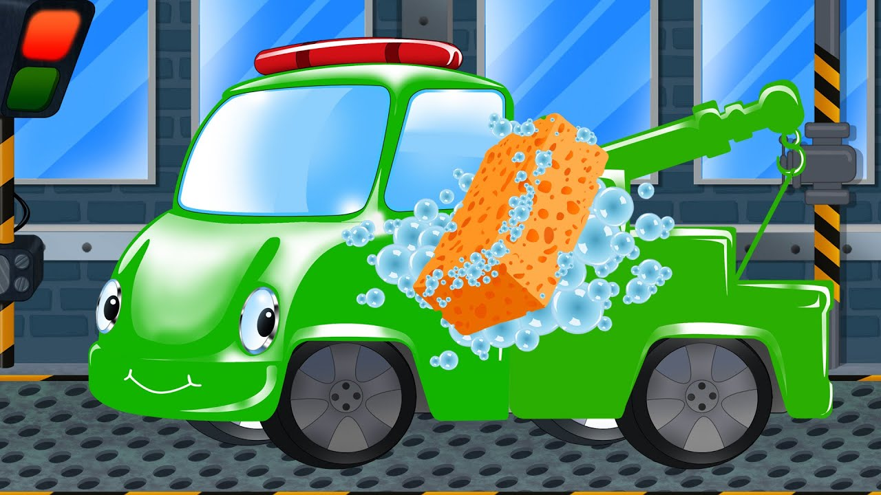 tow truck tow truck car wash kids games youtube. Black Bedroom Furniture Sets. Home Design Ideas
