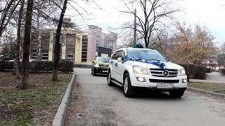 Свадебный кортеж Мерседесов в Челябинске. (www.auto454.ru)