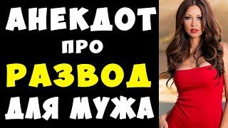 АНЕКДОТ про Развод для Мужа Самые Смешные Свежие Анекдоты