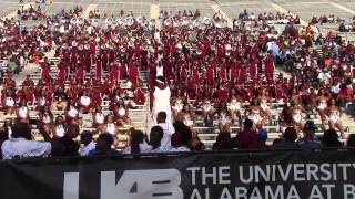 2014 Alabama A&M University Band @ UAB - Show The World