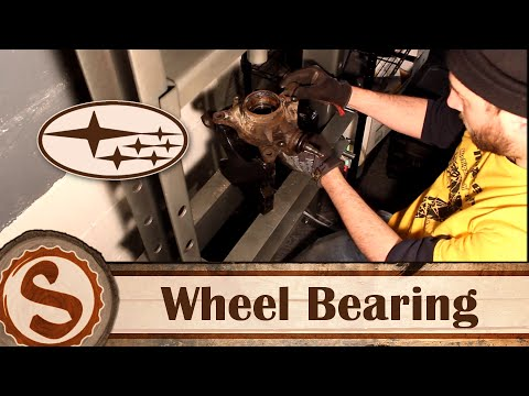 How To Replace A Wheel Bearing On A Subaru