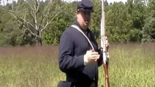 Appomattox Court House Rifle Demonstration 2010