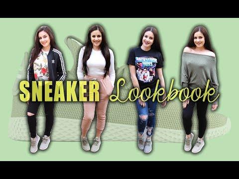 SNEAKER LOOKBOOK - HOW I STYLE ADIDAS TENNIS HU || Lucykiins