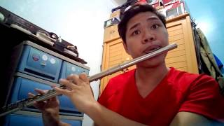 Dying Inside by Darren Espanto (All of You OST) | Flute Cover