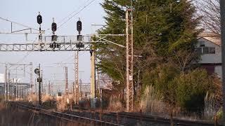 E653系1000番台臨時快速 郡山〜安積永盛通過