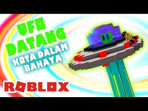 ROBLOX INDONESiA | MENGHANCURKAN UFO YG MENYERANG KOTA !! ????