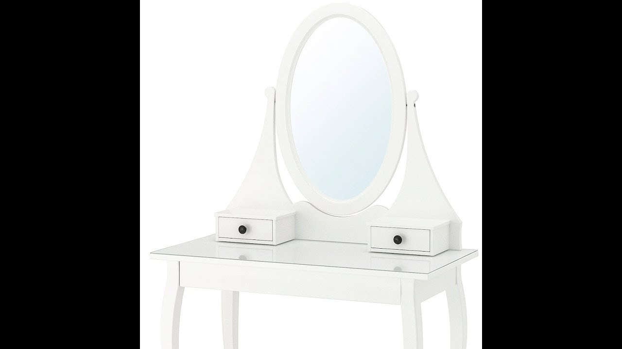 how to build IKEA HEMNES DRESSING TABLE