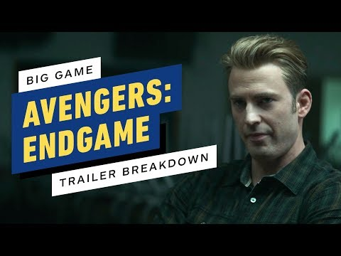 Avengers: Endgame - Big Game Spot Breakdown and Easter Eggs