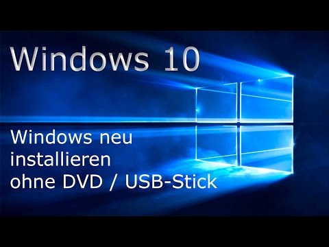 [TUT] Windows 10 Neu Installieren [DE | 4K]