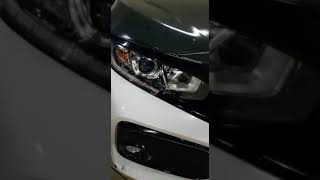 Lampu LED DRL Crystal Sein Lexus Running 50 Cm Mobil