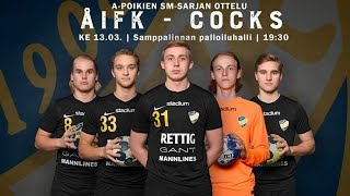 APSM ÅIFK-Cocks, 13.3.2019