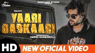 Ninja | New Song | Yarri Badkaari(Full Official Video)|Latest Punjabi songs 2018| ft.Sidhu Moosewala