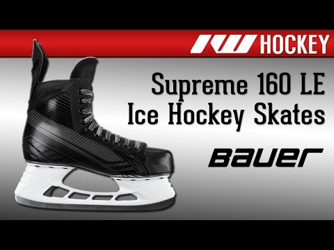 Bauer Supreme 160 Limited Edition Ice Hockey Skate Review - YouTube