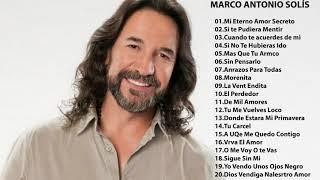 Marco Antonio Solis baladas romanticas exitos  -  30 Exitos Mix