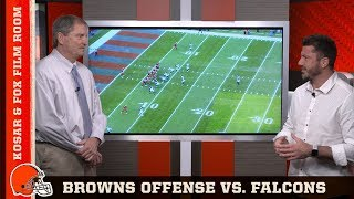 Film Room with Kosar and Fox: Browns Offense vs. Falcons | Browns Countdown