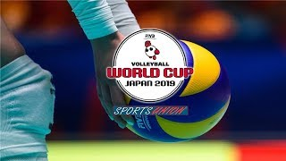 2019 FIVB Volleyball Women's World Cup live - Russia vs Japan