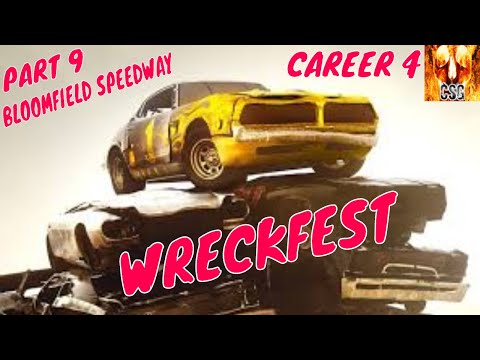 Let's Play Wreckfest Part 9 Career 4-Bloomfield Speedway