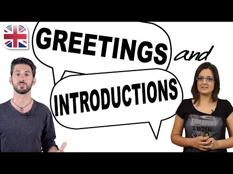 English Greetings And Introductions Video Lesson Oxford Online
