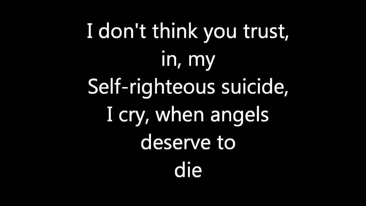 System Of A Down - Chop Suey! Lyrics | MetroLyrics