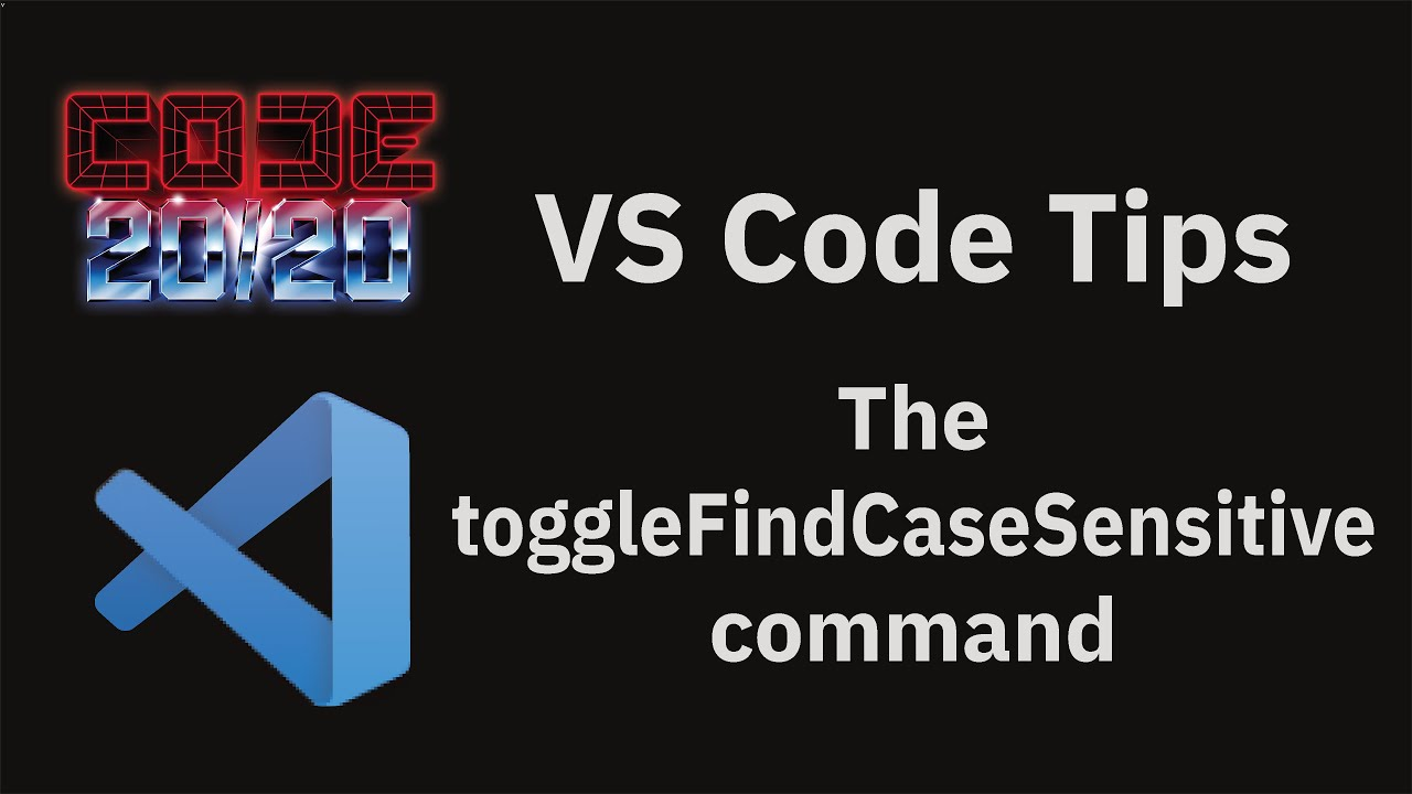The toggleFindCaseSensitive command