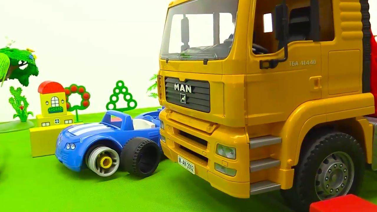 videos f r kinder spielzeugautos kommen zur hilfe youtube. Black Bedroom Furniture Sets. Home Design Ideas