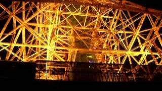 東京タワーの中を見学しました。 高層階まで、エレベーターにのり、ぐる...