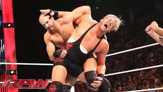 Jack Swagger vs. Cesaro: Raw, Aug. 11, 2014