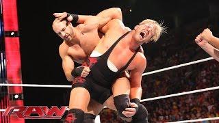 Jack Swagger vs. Cesaro: Raw, Aug. 11, 2014