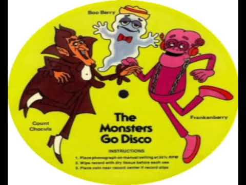 Count Chocula, Boo Berry, Frankenberry   The Monsters Go Disco 1979