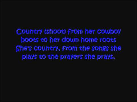 Jason Aldean - Shes Country (With Lyrics)