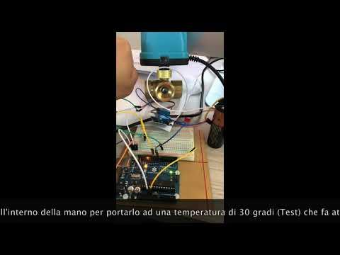 Valvola solare motorizzata con Arduino
