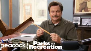 Ron Swanson Knows His Wood - Parks and Recreation