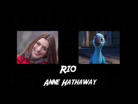 Comparing the voices of Rio - Jewel