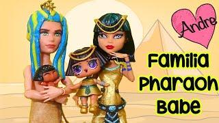 La familia LOL Pharaoh Babe encuentra un tesoro   Muñecas y juguetes con Andre para niñas y niños