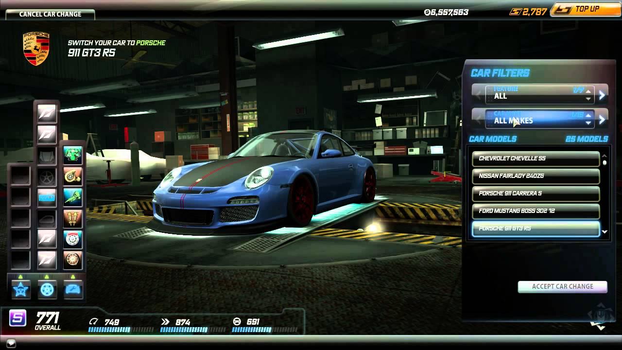 Nfs Underground  Best Starting Car