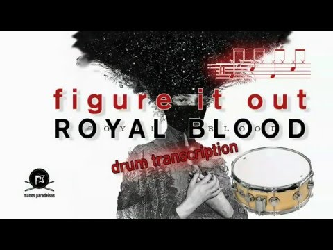 Royal Blood - Figure it out - Free Drum Sheet Music - Drum notation